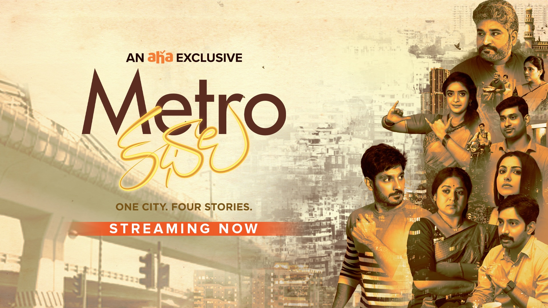 These 4 stories are brilliant.. Must watch: Metro Kathalu